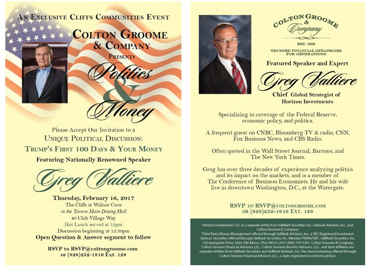 Political Event Invitation Creation and Event Planning