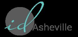ID Asheville Logo - Gray No Tagline