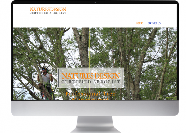 Natures Design Website in progress