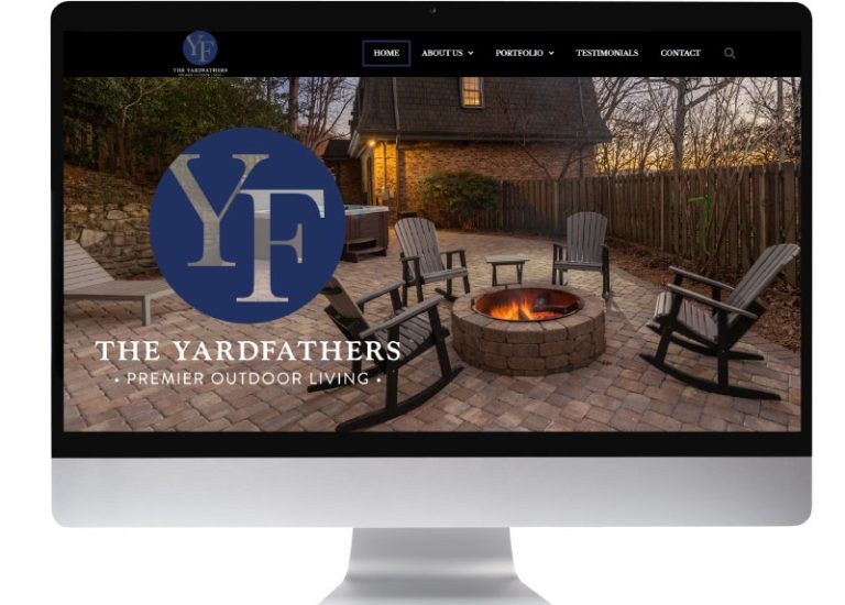The YardFathers Premier Outdoor Living completed website